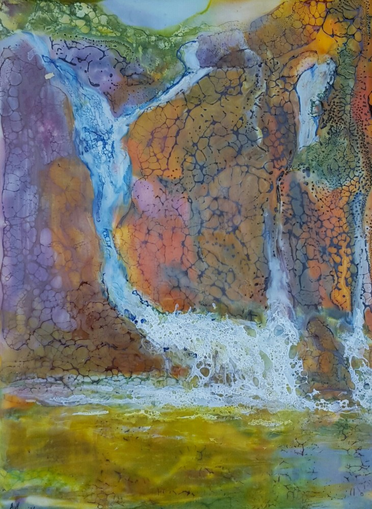 As the water flows by Marijke Gilchrist