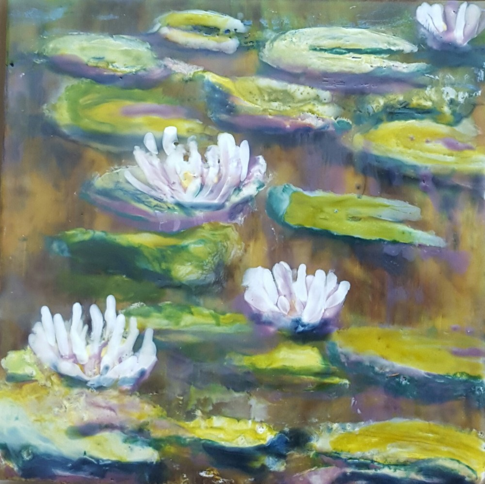 Water Lilies - I by Marijke Gilchrist