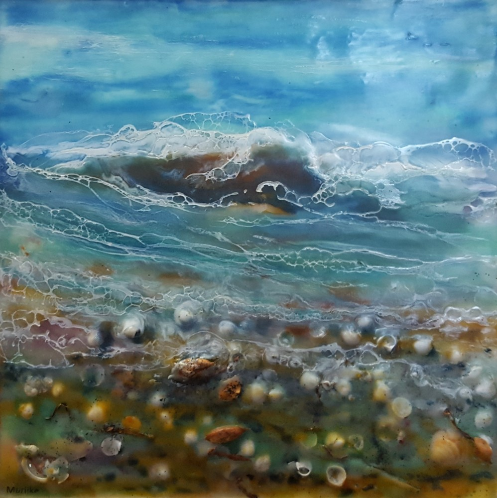 Ebb and flow - I by Marijke Gilchrist