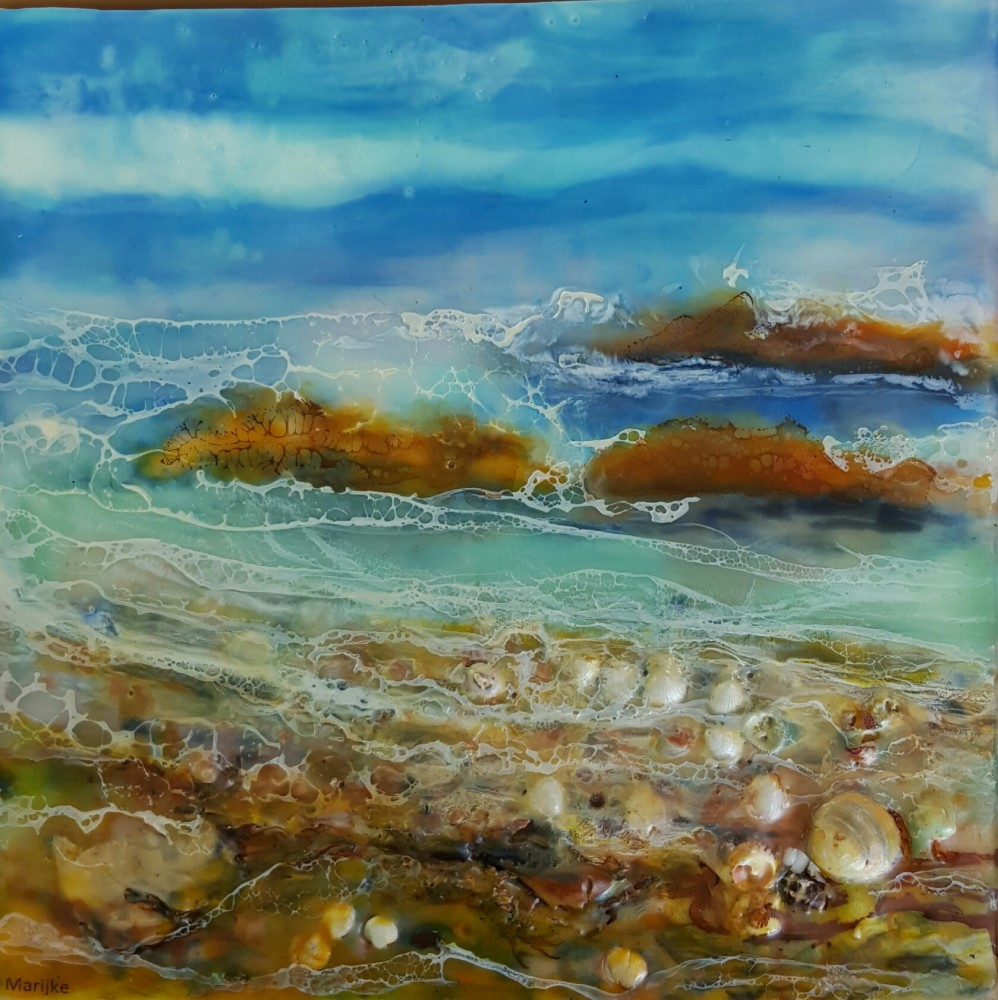 Ebb and flow - II by Marijke Gilchrist