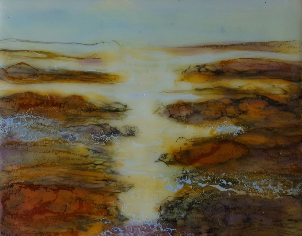 Golden waters by Marijke Gilchrist