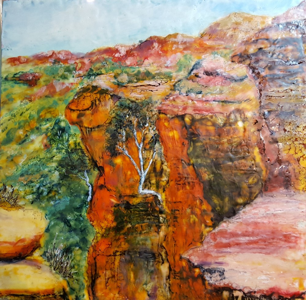 Kings Canyon NT by Marijke Gilchrist