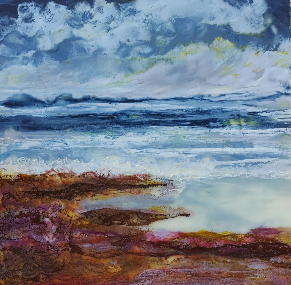 Moody sea by Marijke Gilchrist