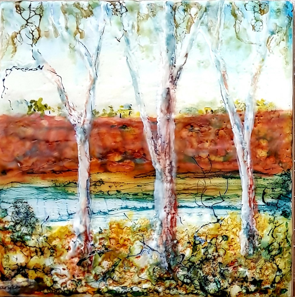 Banks of the Murray River by Marijke Gilchrist
