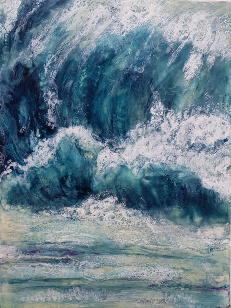 Roar of the surf by Marijke Gilchrist