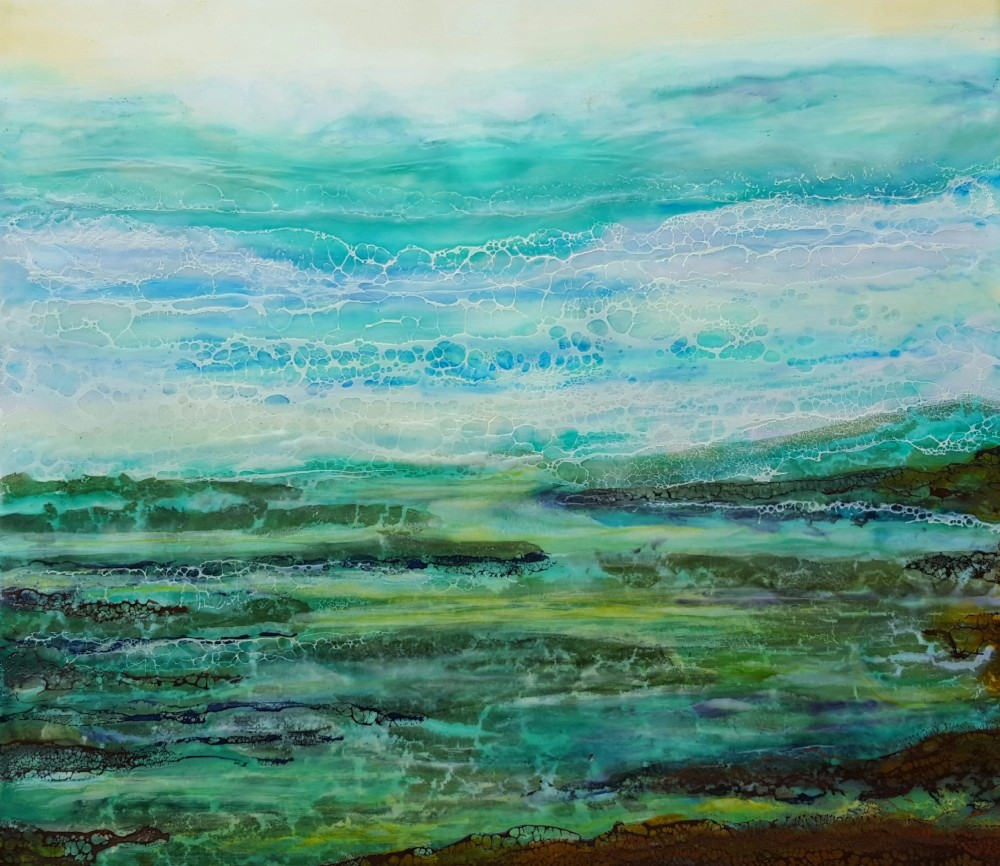 Silently the sea drifts in by Marijke Gilchrist