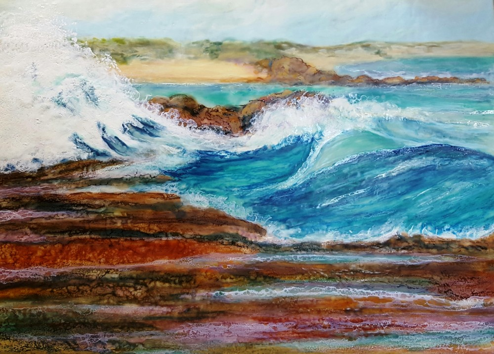 Rising swell by Marijke Gilchrist